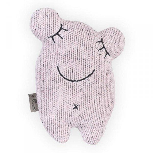 Przytulanka dla dziecka doudou do usypiania Potworek vintage pink - Jollein