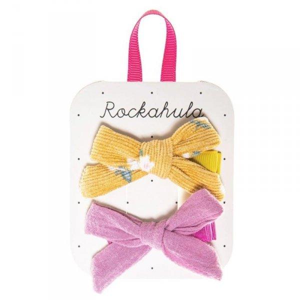 Rockahula Kids - spinki do włosów dla dziewczynki Florence Tie Ochre