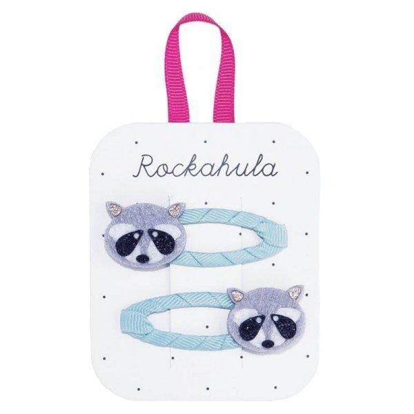Rockahula Kids - spinki do włosów dla dziewczynki Ronnie Racoon