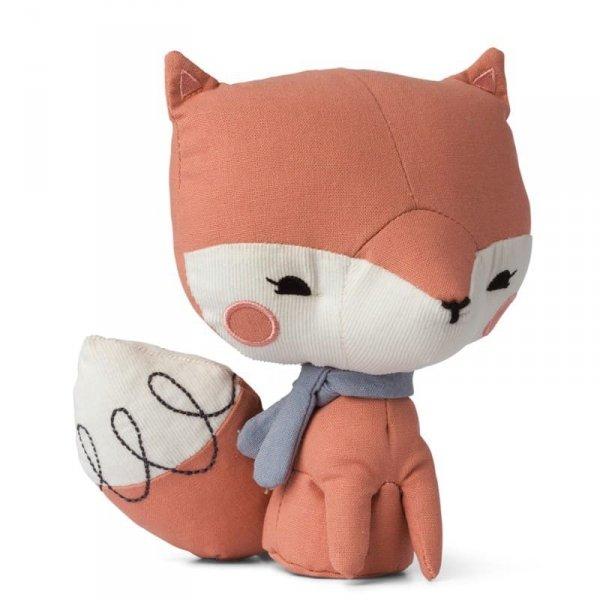 Zabawka Przytulanka dla dziecka Pan Lisek Różowy 24 cm - Picca LouLou