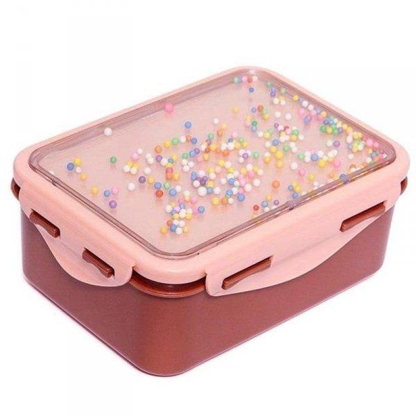 Śniadaniówka dla dziewczynki Lunchbox POPSICLES Desert Rose -Petit Monkey