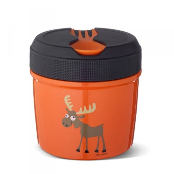 Carl Oscar TEMP Lunch Jar - Termos ze szlachetnej stali nierdzewnej 0,5 L Orange - Moose
