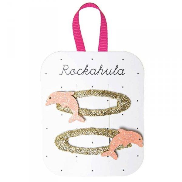 Spinki do włosów dla dziewczynki Delfin Dolly - Rockahula Kids