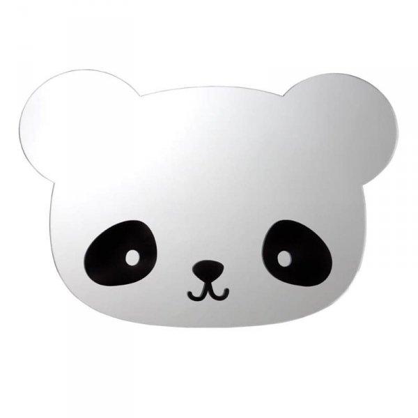 Lustro ścienne z naklejkami Panda & Miś - A Little Lovely Company