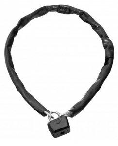 Zapięcie rowerowe łańcuch ONGUARD 8019 Mastiff 120cm x 6mm, kłódka 8mm 5x klucz, czarne