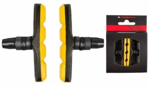 Klocki hamulcove V-Brake imbus 72mm PROMAX czarno-zółte