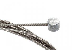 Linka hamulca ACCENT 1.6mm x 1700mm ze stali nierdzewnej szlifowanej z 31 drutów