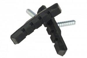 Klocki hamulcowe V-Brake bolec 70mm niesymetryczne NEXELO