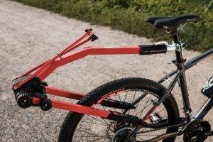 Hol rowerowy drążek do roweru dziecięcego PERUZZO czerwony PZ-300/R