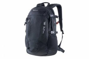 Plecak turystyczny Hi-TEC FELIX 25L z pokrowcem, czarny