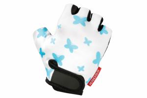 Rękawiczki dziecięce KROSS JOY M biało-niebieskie