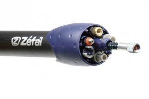 Pompka ZEFAL MAX czarno-niebieska