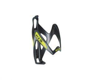 Koszyk bidonu KELLYS PATRIOT czarno-zielony /black-lime/
