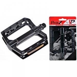 Pedały rowerowe aluminiowe VPE-527 PROX platformowe, czarne