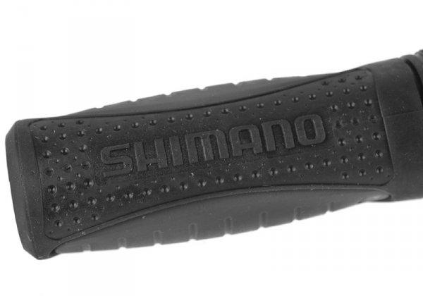 Chwyty kierownicy Shimano czarno-szare 120mm