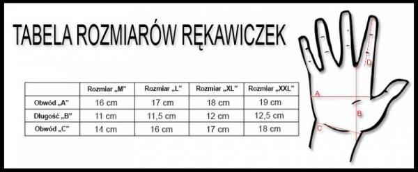 Rękawiczki KROSS Race Short 2.0 czarno-czerwone L