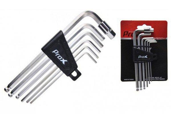 Klucze imbusowe zestaw ProX 7szt