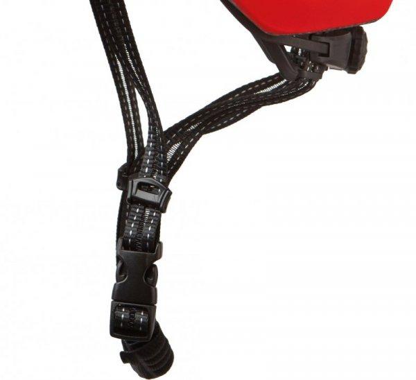 Kask KROSS ATTIVO z dzaszkiem L 58-61cm czerwony mat