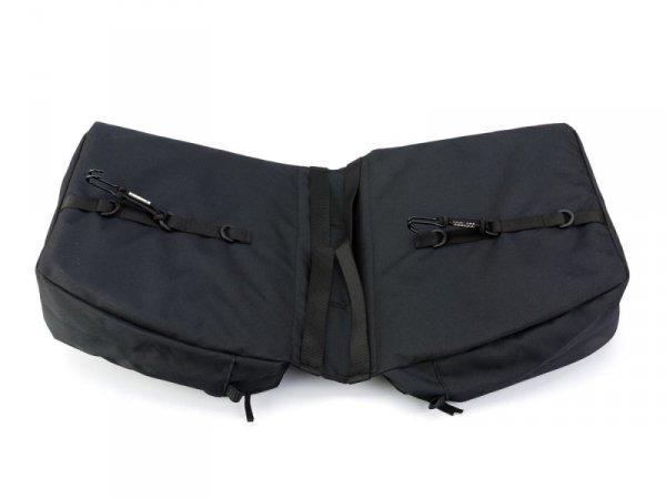Sakwa na bagażnik 2 komorowa ROMET 2x9L 33x10x28cm 625g czarna