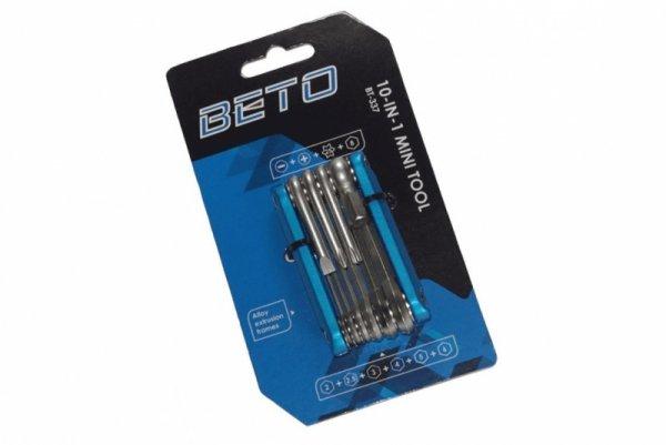 Klucz wielofunkcyjny BETO 10w1 BT-337 10-funk. scyzoryk niebieski