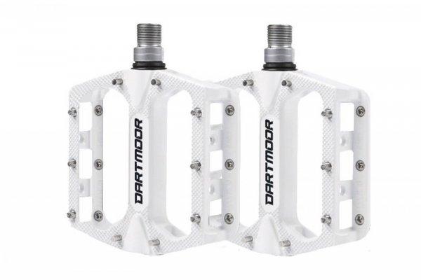 Pedały DARTMOOR Stream PRO białe lakierowane