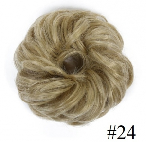 Kok na gumce bombka #24 - chłodny blond