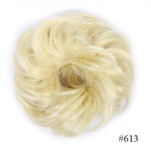 Kok na gumce bombka #613 - słoneczny jasny blond