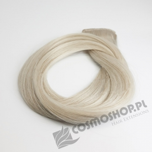Zestaw Clip-in, długość 55 cm kolor #614 -BARDZO JASNY POPIELATY BLOND