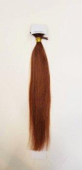 Zestaw włosów pod mikroringi, długość 55 cm kolor #10 - BARDZO JASNY BRĄZ KASZTANOWY