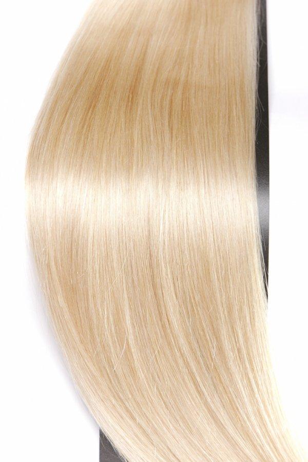 Zestaw Clip-in, długość 55 cm kolor #22 -ŚREDNI  BLOND 220g