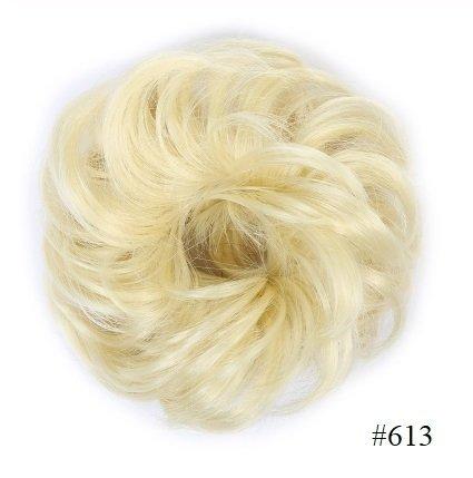 """Kok na gumce """"bombka"""" #613 - słoneczny jasny blond"""