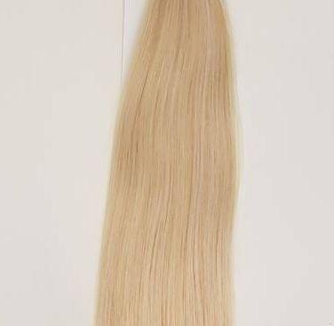 Zestaw włosów pod mikroringi, długość 55 cm kolor #22 - ŚREDNI BLOND