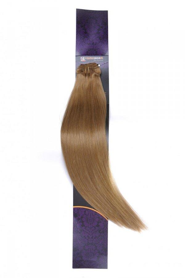 Zestaw Clip-in, długość 45 cm kolor #12 - NATURALNY CIEMNY BLOND, 150g