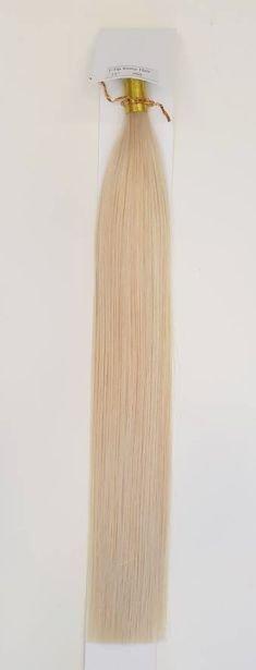 Zestaw włosów pod mikroringi, długość 55 cm kolor #60 - BARDZO JASNY BLOND
