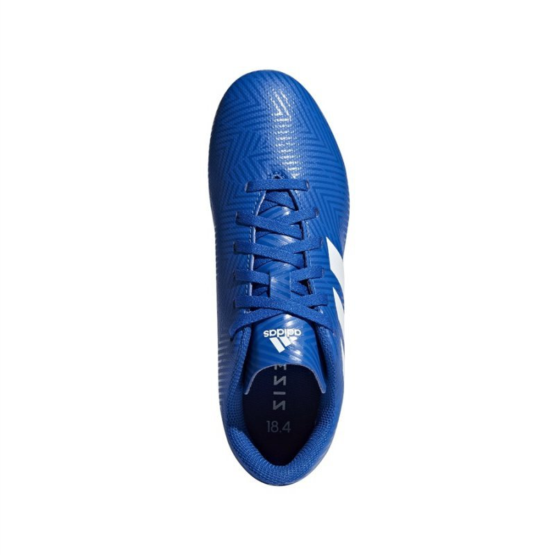 Buty adidas Nemeziz 18.4 FxG J DB2357 niebieski 38 2/3