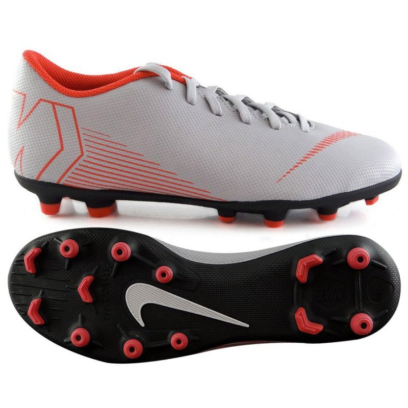 Buty Nike Jr Mercurial Vapor 12 Club GS MG AH7350 060 szary 37 1/2