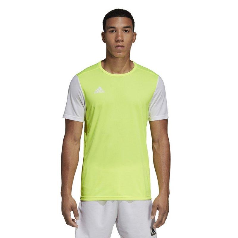 Koszulka adidas Estro 19 JSY DP3235 żółty 164 cm