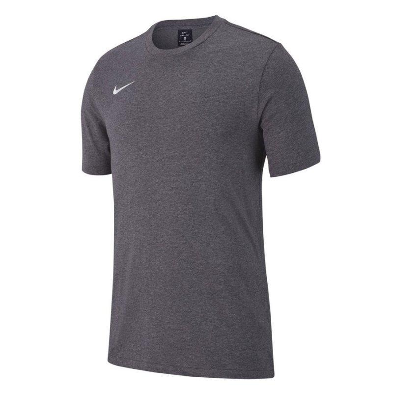 Koszulka Nike Y Tee Team Club 19 AJ1548 071 szary M (137-147cm)
