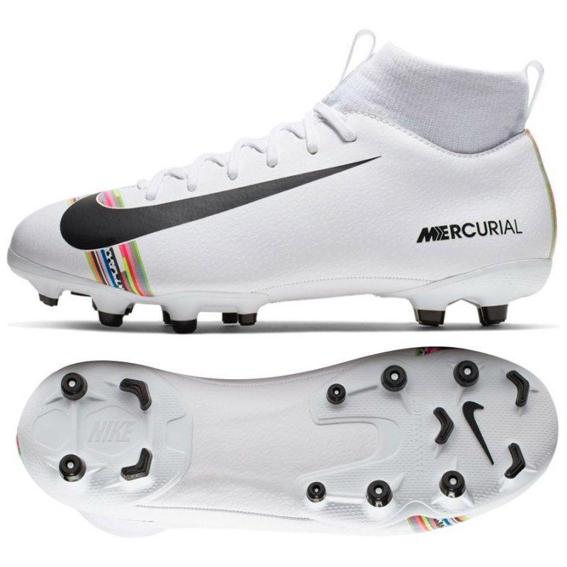 Buty Nike JR Mercurial Superfly 6 Academy GS CR7 AJ3111 109 biały 38 1/2