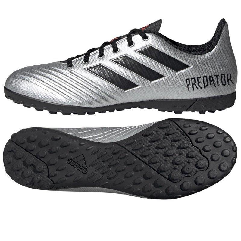 Buty adidas Predator 19.4 TF F35634 szary 46