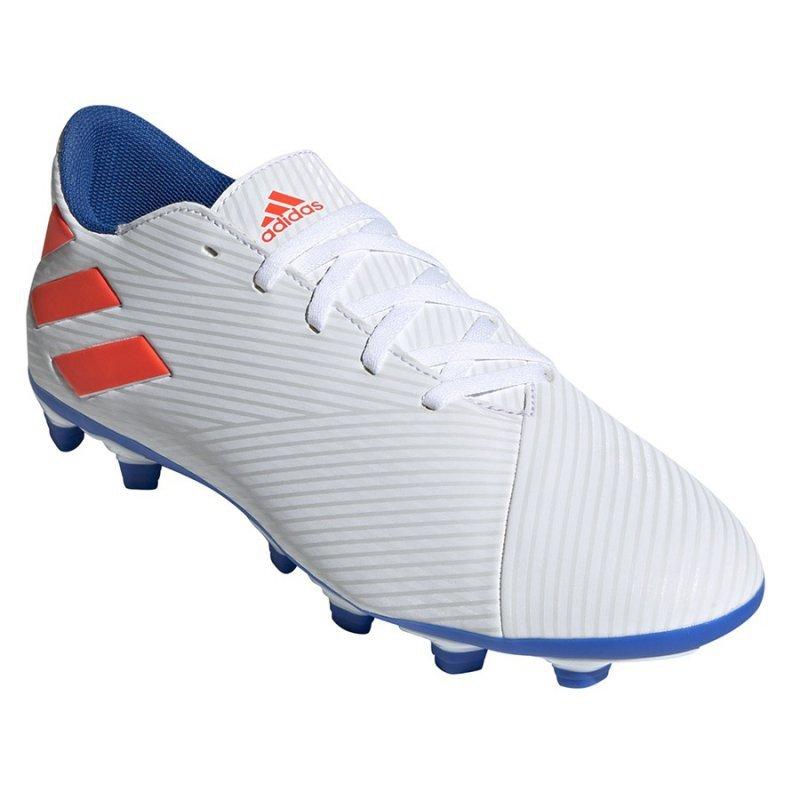 Buty adidas Nemeziz Messi 19.4 FG F34401 biały 39 1/3