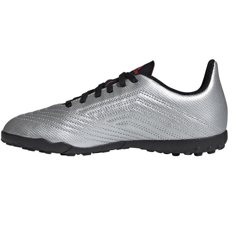 Buty adidas Predator 19.4 TF J G25825 szary 38 2/3