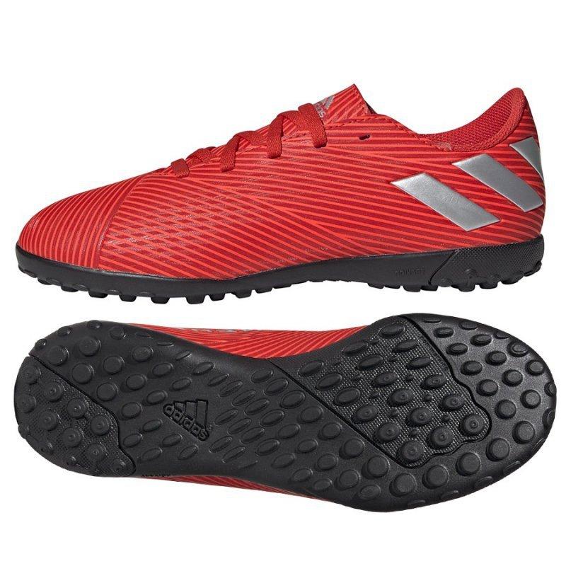 Buty adidas Nemeziz 19.4 TF J F99935 czerwony 38 2/3