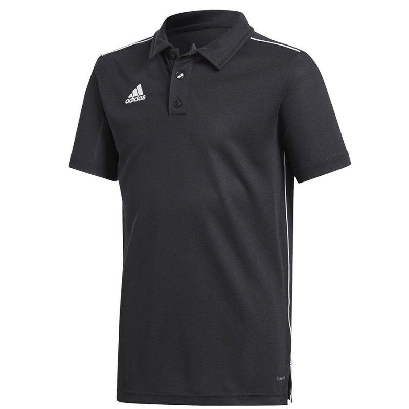Koszulka adidas Polo Core 18 Y CE9038 czarny 116 cm