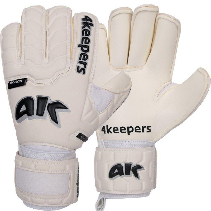 Rękawice 4keepers Champ Black IV RF Junior + płyn czyszczący biały 5