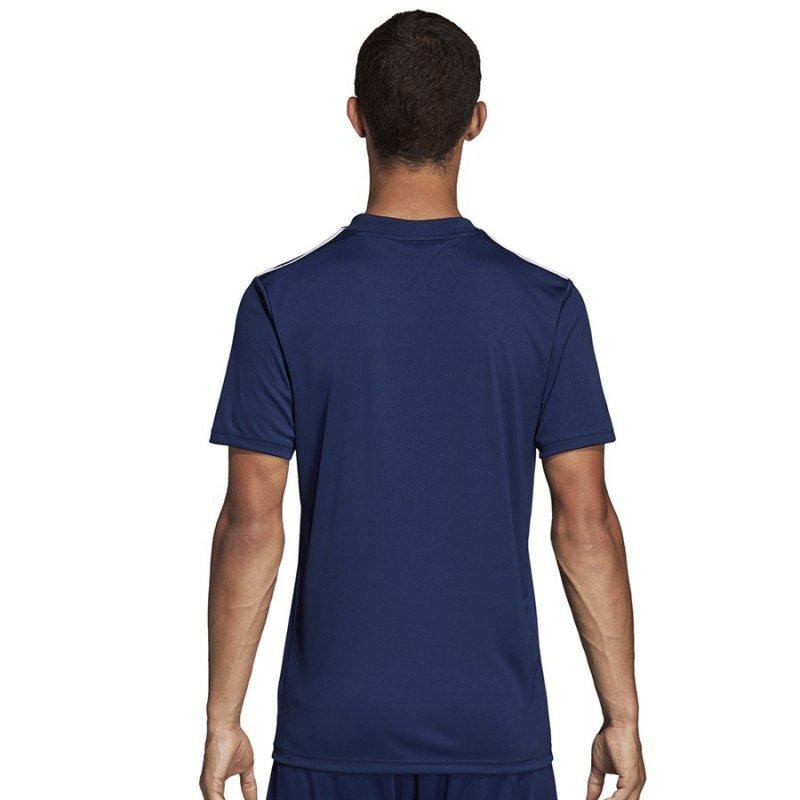 Koszulka adidas Striped 19 JSY DP3201 granatowy S
