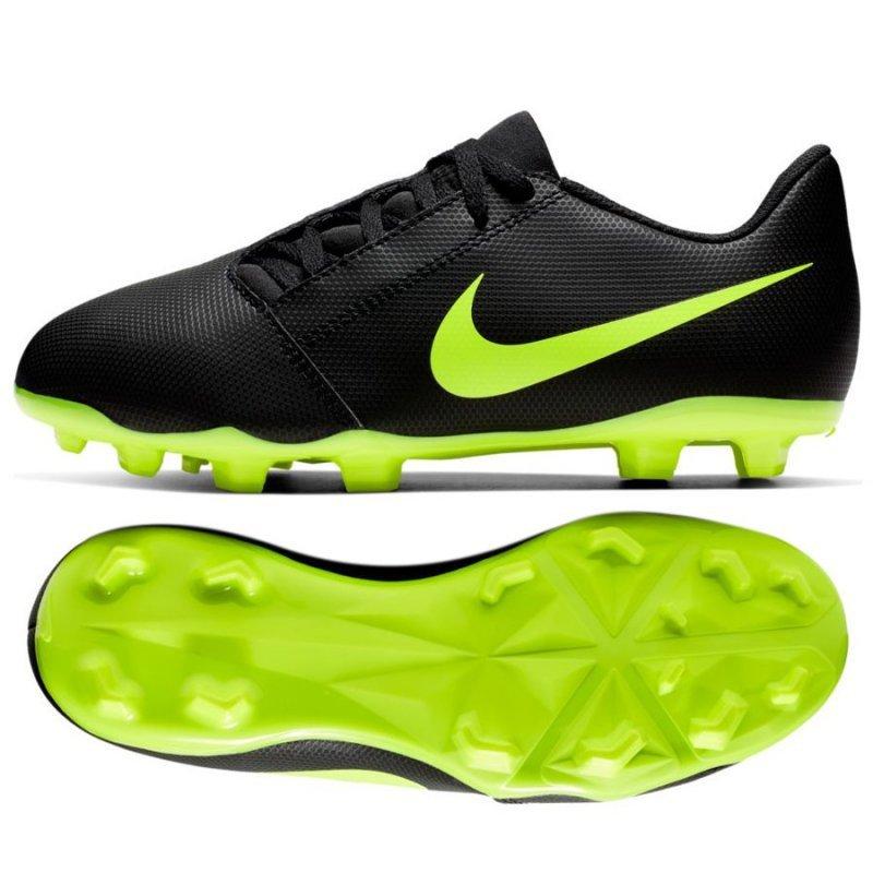 Buty Nike JR Phantom Venom Club FG AO0396 007 czarny 30