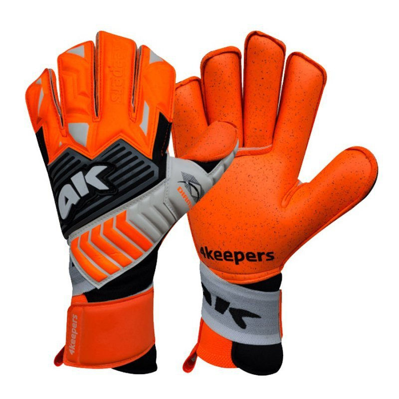 Rękawice 4keepers Diamo Taffe RF + płyn czyszczący pomarańczowy 10
