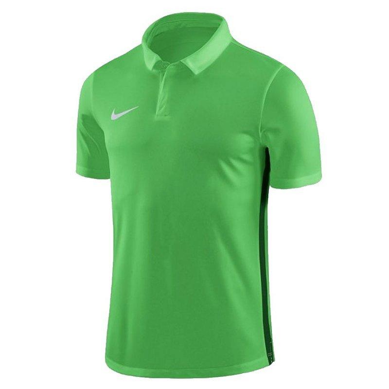Koszulka Nike Y Dry Academy 18 Polo SS 899991 361 zielony L (147-158cm)