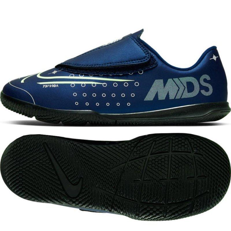 Buty Nike JR Mercurial Vapor 13 Club MDS IC PS (V) CJ1176 401 niebieski 25